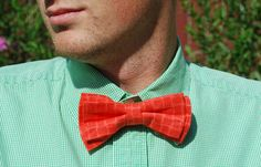 Alex... in case bow ties are too expensive.. . go get  left over fabric from craft store.. No Sew DIY Clip on Bow Ties