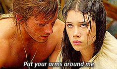 """Astrid Berges-Frisbey as Syrena and Sam Claflin as Philip Swift in Disney's """"PIRATES OF THE CARIBBEAN: ON STRANGER TIDES"""" (2011)"""