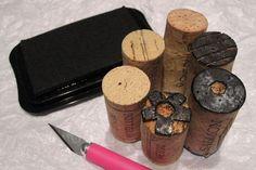 cork stamp tutorial - Shona Cole
