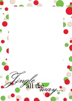 Free downloadable, printable Christmas letter templates ...