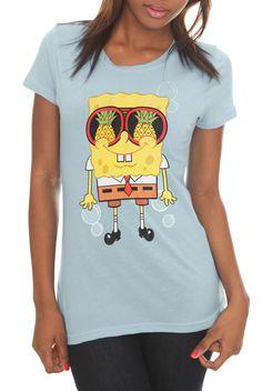 SpongeBob SquarePants Shades Girls T-Shirt   Hot Topic