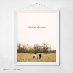 """New wall art from #peartreegreetings! Printed on acid free, 100% recycled paper with a hand crafted look, these 11""""x 14"""" prints are great for gifting or decorating your home!"""