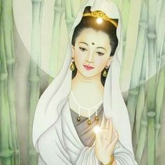 The light of love, the purity of grace, The mind, the Music breathing from her face, The heart whose softness harmonised the whole . Tao Te Ching, Spiritual Images, Esoteric Art, Buddha Art, Taoism, Guanyin, Gods And Goddesses, Deities, Marriage