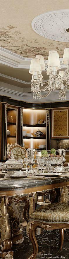 Luxury Mansion Dining Room.