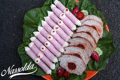 Tormakrémes sonkatekercs | Nassolda Sushi, Japanese, Ethnic Recipes, Food, Japanese Language, Essen, Meals, Yemek, Eten