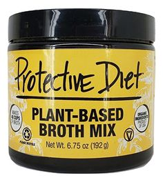 Protective Diet Plant-Based Broth Mix - makes 12 quarts Vegan Recipes Beginner, Recipes For Beginners, Gourmet Recipes, Whole Food Recipes, Milk And More, Plant Based Milk, Onion Soup Mix, Organic Turmeric, Free Plants