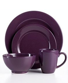 Plum & Teal Loft •~• dishes