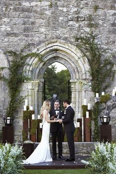 The 5 Most Stunning Vogue Weddings of 2015 via @WhoWhatWear
