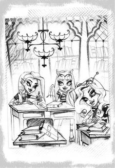 Monster High: Ghoulfriends Forever book series