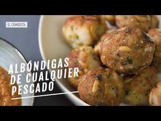 Albóndigas de cualquier pescado | EL COMIDISTA - YouTube Albondigas, Baked Potato, Baking, Ethnic Recipes, Food, Youtube, Dipping Sauces, Roasted Almonds, Ethnic Food