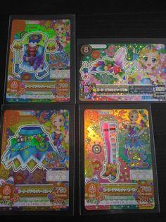 "Trading card of Japanese Animation ""AIKATSU"" Premium Peter adventure co"