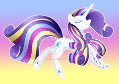 Rarity Rainbow Power by Scarlet-Spectrum.deviantart.com on @DeviantArt