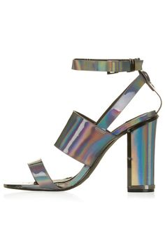 7 Things To Buy Before You Go To Bed #refinery29  You may actually be able to dance the night away in these block-heeled sandals (so cute with socks!) with a supportive ankle strap. Topshop Relish Metallic Sandals, $90, available at Topshop.  From: The Best Party Shoes According To Your Personality