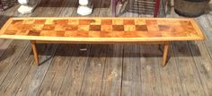 Refinished Tomlinson Coffee Table Mid Century by DareToBeVintage