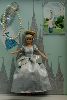 Cinderella shadow box made by the one and only Darcy Miller of Martha Stewart Weddings