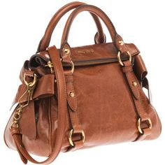 Brown Purse - adorable!