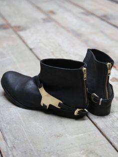 Free People Devout Metal Harness Boot at Free People Clothing Boutique
