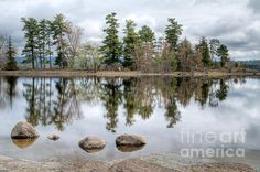 Four Rocks And The Point. Pinhey's Point Ontario. Pinhey's Point Heritage Property and Park Fine Art Photography  http://rob-huntley.artistwebsites.com  © Rob Huntley