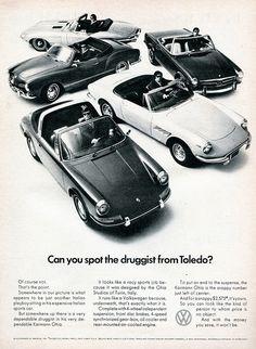 1969 Volkswagen Karmann Ghia Advertising Road & Track June 1969