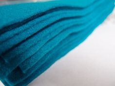 Felt - Aqua Turquoise - Kunin Eco Rainbow Classic Felt Made from Recycled Plastic Bottles Eco-Fi Eco Friendly Recycled Polyester by LoveEllieBagMaking Find it now at http://ift.tt/1UThTfK!