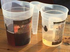 Pantglas på Jellingfestival. Ingen plastikglas ligger og flyder på pladsen. #festivalmedomtanke #ansvarlig