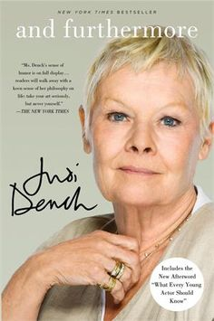 And Furthermore by Judi Dench - Biz Books