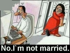 No. I'm not married.   #funnypictures, #funnylove - Visit http://funny-lover.com for more fun.