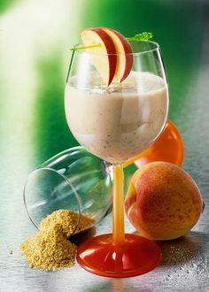 Smoothie-Rezept für einen gesunden Pfirsich-Smoothie. www.ihr-wellness-magazin.de