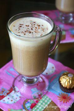 Кофе в постель с ароматом мускатного ореха.