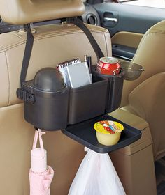 Car Organizer with tray and a Flip-Lid Trash Can $4.95 each