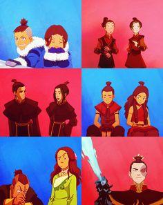 """""""Flameo, hotman"""" - Aang"""
