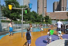 20 Best Water Playgrounds and Sprinklers for Kids in NYC   MommyPoppins - Things to do in New York City with Kids