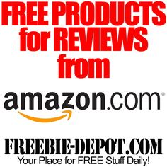 ‼‼‼‼‼ #FREE Products for Reviews from #Amazon ‼‼‼‼‼