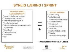 Billedresultat for synlig læring plakater Danish Language