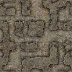 Heroic Maps - Geomorphs: Cavern Tunnels - Cavern Tunnels Cavern Tunnels is a printable dungeon floorplan compatible with any RPG/Dungeon-Crawl game. Dungeon Tiles, Dungeon Maps, Virtual Tabletop, Map Layout, Fantasy Map, Pen And Paper, Cartography, Dungeons And Dragons, Mansions