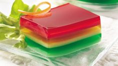 1 Jell-O Jell-O Egg: JELL-O EGG JIGGLERS recipe (via Kraft Yogurt Jell-O Ribbon Yogurt Jell-O Ribbon Salad: The good old days inspire a delicious new gelatin salad flavored with today's popular. Jello Desserts, Jello Recipes, Just Desserts, Jello Salads, Dessert Salads, Delicious Desserts, Dessert Recipes, Yummy Food, Kraft Recipes