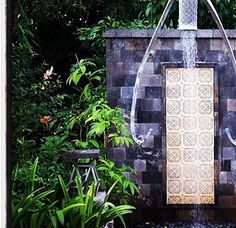 Unique Outdoor Shower Ideas