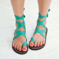 Sseko Sandals -- you can tie them in a million different ways AND you help women in Uganda get educated!