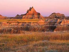 Tapeta na Plochu Národní park Badlands