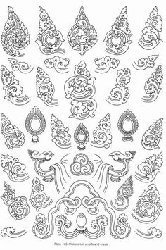Буддийский альбом по основам рисования, танкописи, символики и орнаментам - Символика тибетского буддизма - Фотографии - Буддийское видео, аудио, фотографии (мультимедиа) Buddha Tattoo Design, Tibetan Tattoo, Tibetan Art, Buddha Kunst, Buddha Art, Japanese Drawings, Japanese Art, Cambodian Art, Kerala Mural Painting