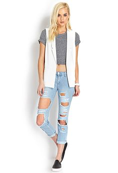 Minimalist Casual Vest | FOREVER 21 - 2000124791