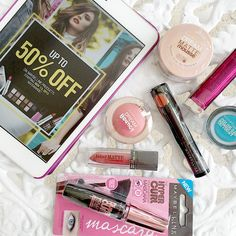 If you have kikay and makeup lover friends, then take advantage of the Maybelline Crazy Sale until end of December this year! They slash up to 50% off the original prices of your favorite Maybelline products!