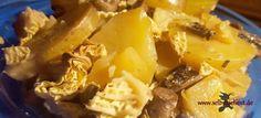 Was koche ich heute? Wirsing-Pilz-Kartoffel-Eintopf! – Einfach selbstgehext!