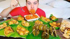 Thai Street Food • อาหารไทย • MUKBANG