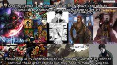 Support Fallen Manga Studios creating WebComics