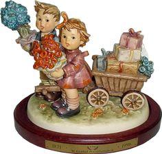 Hummel Love's Bounty Century Hummel Figurine 751