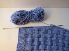 """I present to your attention a cute children's blanket with a relief pattern """"basket"""". Knitted with knitting needles from imported yarn, soft and very cozy. It"""