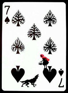 Märchen Spielkarte