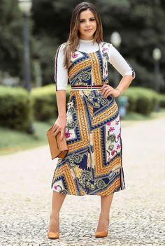 e94f911462 64 melhores imagens de Vestidos moda evangélica em 2019
