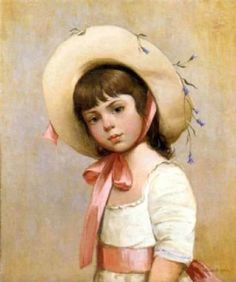 Belkovsky Igor portrait-of-a-young-girl-wearing-a-hat-2